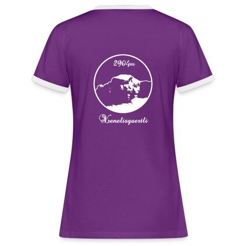 Flydal Vrenelisgärtli - Frauen Kontrast-T-Shirt