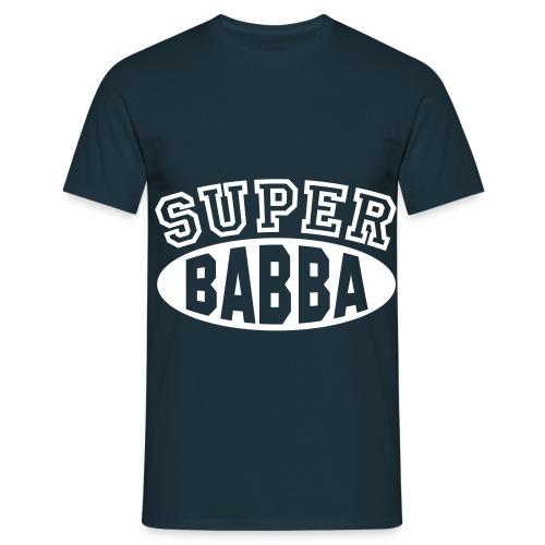 Männer T-Shirt *BABBA* mit Vereinsname - Männer T-Shirt