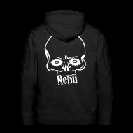 Pullover & Hoodies ~ Männer Premium Kapuzenpullover ~ Pullover Nebu Logo