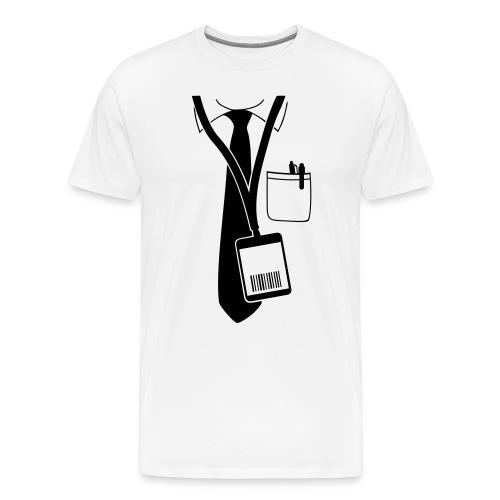 Maglietta da uomo con cravatta - Maglietta Premium da uomo