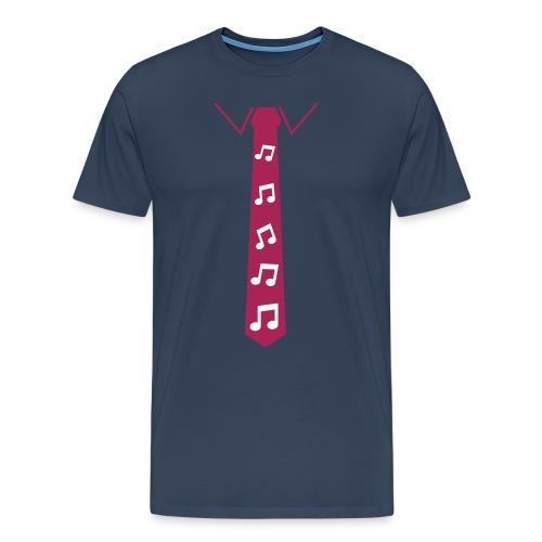 Maglietta da uomo note musicali - Maglietta Premium da uomo