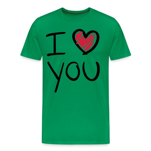 i love you - T-shirt Premium Homme