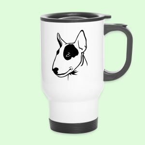 Profil de Bull Terrier - Mug thermos