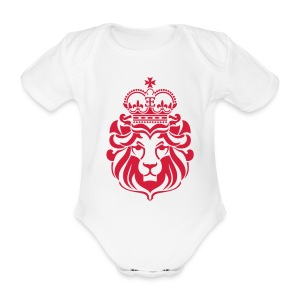 Lion of Zion T-Shirts - Baby Bio-Kurzarm-Body