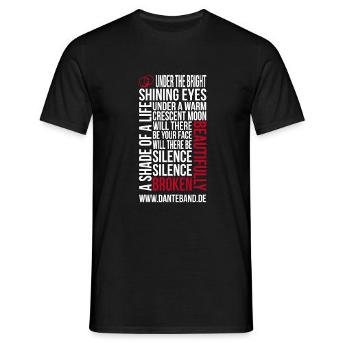 DANTE T-Shirt men black standard - beautifully broken - Männer T-Shirt