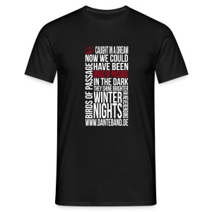 DANTE T-Shirt men black standard - birds of passage - Männer T-Shirt