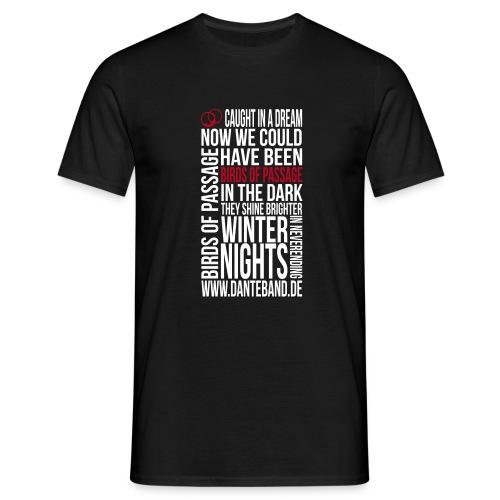 DANTE T-Shirt men black standard - birds of passage - Männer T-Shirt