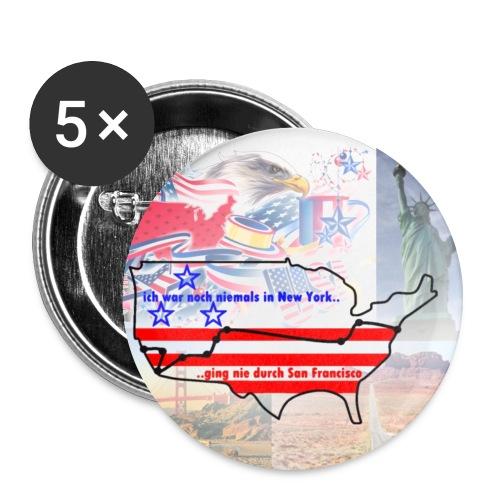 Pakt Button - Buttons mittel 32 mm (5er Pack)