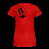 T-Shirts ~ Frauen Premium T-Shirt ~ rythmo black