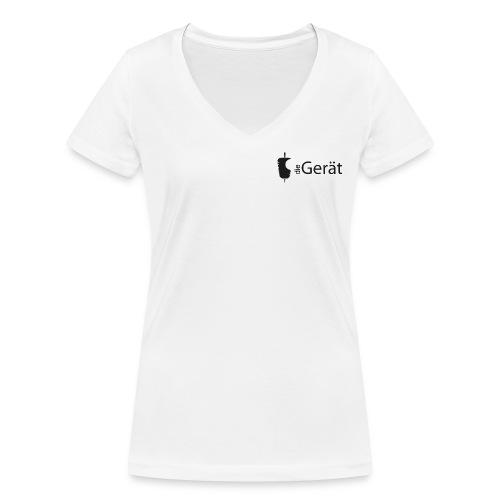 Der Gerät - Poloshirt klassisch - Frauen Bio-T-Shirt mit V-Ausschnitt von Stanley & Stella