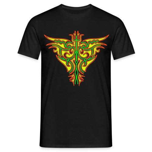 Maori Butterfly Black Light Print Print Classic Men - Men's T-Shirt