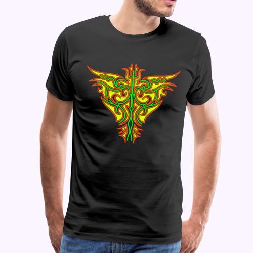 Maori Firebird Men Premium S-5XL - T-shirt Premium Homme