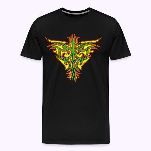 Maori Firebird Men Premium S-5XL - Men's Premium T-Shirt