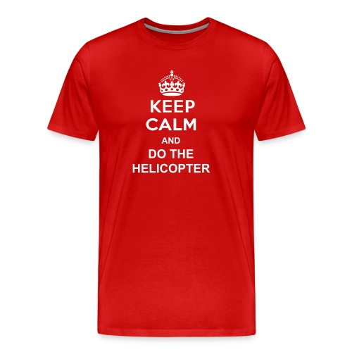 Keep Calm - Premium-T-shirt herr