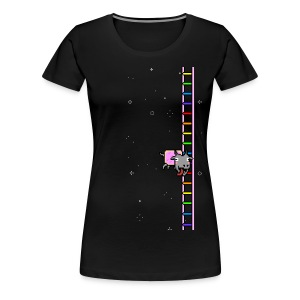 Flappy Goat - Women's Premium T-Shirt