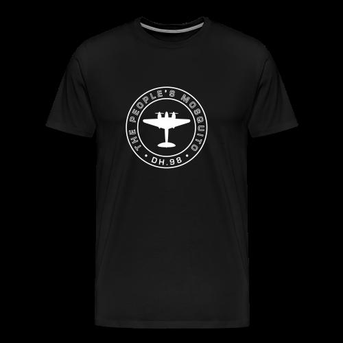 Men's MP Logo T-Shirt - Black - Men's Premium T-Shirt