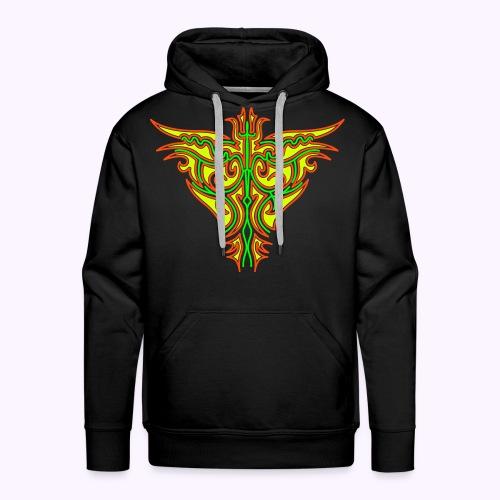 Maori Firebird Men's Hoodie - Men's Premium Hoodie