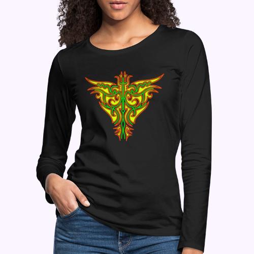 Maori Firebird Women's Longsleeve - T-shirt manches longues Premium Femme