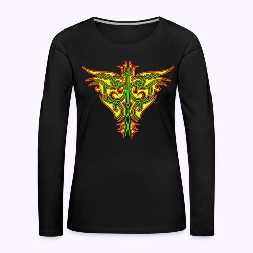 Maori Firebird Women's Longsleeve - Women's Premium Longsleeve Shirt