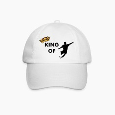 Crown / King of soccer / football Caps & Hats