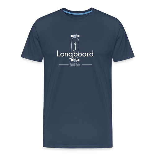 Longboard Stäffele Surfer - Männer Premium T-Shirt