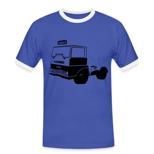Truckertisha - Kontrast-T-shirt herr