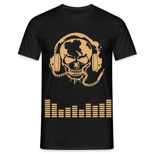 tee-shirt musique - T-shirt Homme