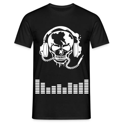tee-shirt musique blanc - T-shirt Homme