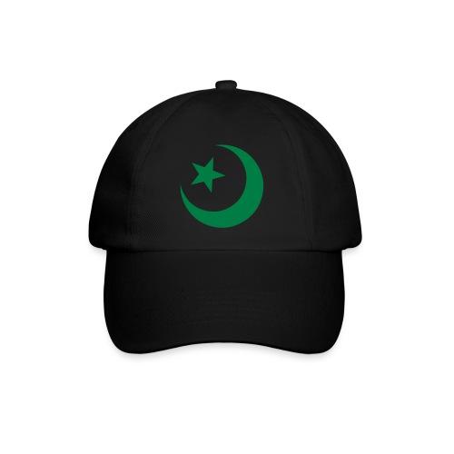 ISLAM - CRESCENT MOON & STAR - Baseball Cap