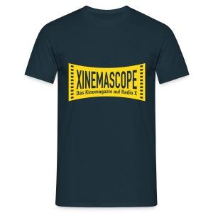 Xinemascope Logo Männer T-Shirt - Männer T-Shirt