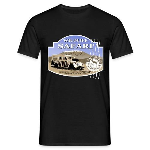 Safari Landrover - Männer T-Shirt