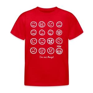 Kid's 12 Faces shirt (white print) - Kids' T-Shirt