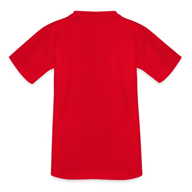 Kid's 12 Faces shirt (white print)