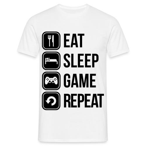 Une journée... - T-shirt Homme