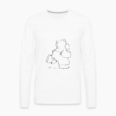 The Hippo jogs Long sleeve shirts