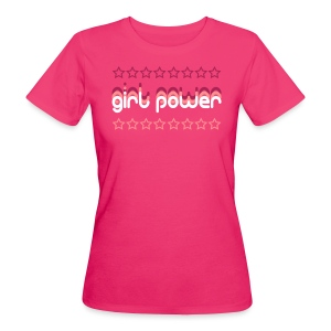 Girl Power Women's Organic T-Shirt - Women's Organic T-shirt