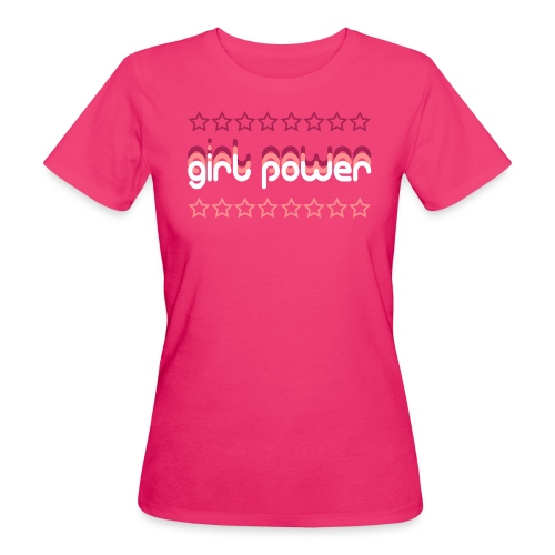 Girl Power Women's Organic T-Shirt - Women's Organic T-shirt