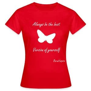 Best Version RED - Women's T-Shirt