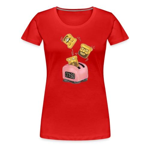 Shirt Mädchen 7:50 Toasts - Frauen Premium T-Shirt