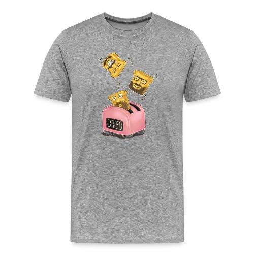Shirt Jungs 7:50 Toasts - Männer Premium T-Shirt