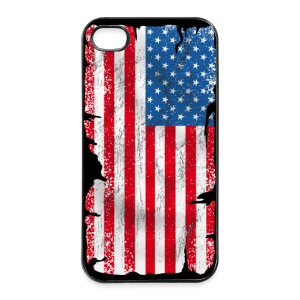USA coque smartphone - Coque rigide iPhone 4/4s