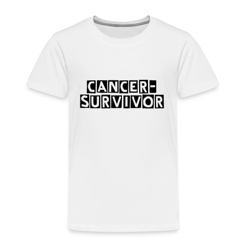 CANCER-SURVIVOR Tee Shirt - T-shirt Premium Enfant