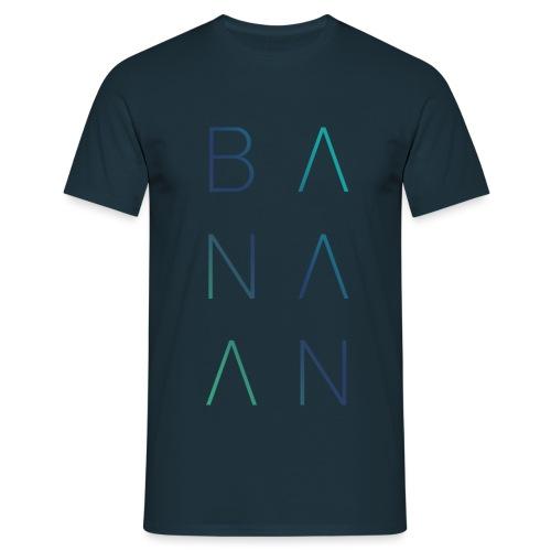 BANAAN/02 mannen t-shirt - Mannen T-shirt