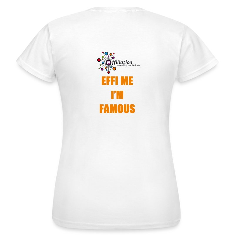 effiliation_orange.jpg - T-shirt Femme