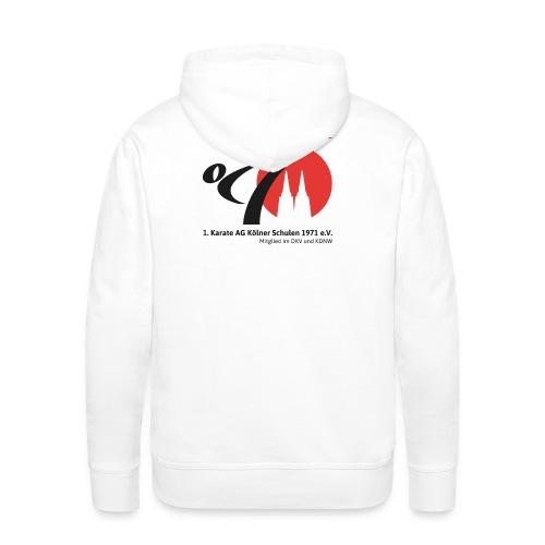 Männer-Kapuzenpullover mit Vereinslogo - Männer Premium Hoodie
