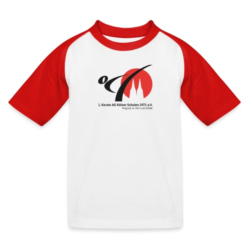 Fanshop_Logo_Karate_Ag - Kinder Baseball T-Shirt
