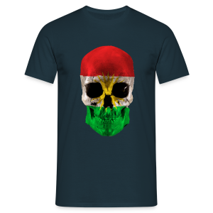 Skull Kurdistan - Männer T-Shirt