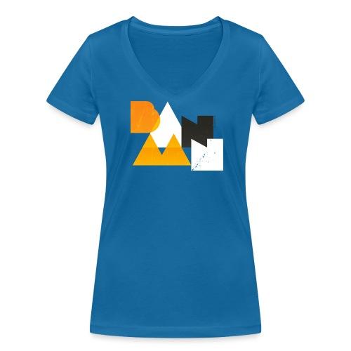 BANAAN/03 vrouwen v-hals bio - Vrouwen bio T-shirt met V-hals van Stanley & Stella