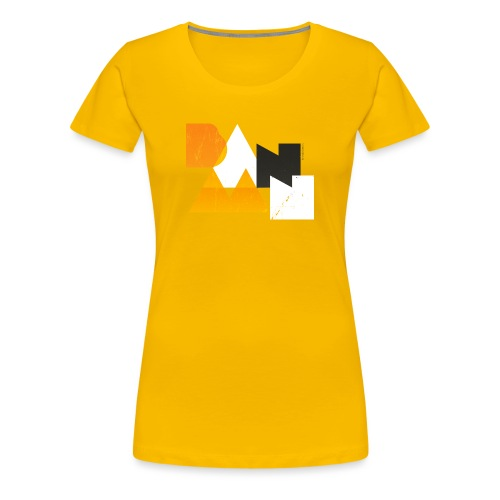 BANAAN/03 vrouwen premium - Vrouwen Premium T-shirt