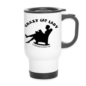 Crazy Cat Lady - Thermobecher
